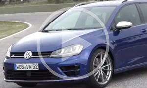 VW Golf R Variant: Sportkombi im Video