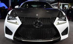Lexus RC F Autosalon Paris 2014 Live-Bilder Sportcoupe Neuheiten