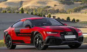 Audi RS 7 Pilotiertes Fahren Rennstrecke A7 RS7 automatisiert