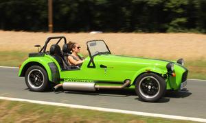 caterham seven 275r fahrbericht roadster