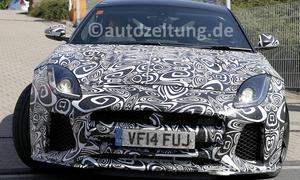 Jaguar F-Type R-S 2016 Erlkönig Nürburgring Supersportler GT3