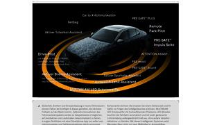 mercedes e klasse 2016 technik neuheiten autonomes fahren intelligent light remote parking sicherheit