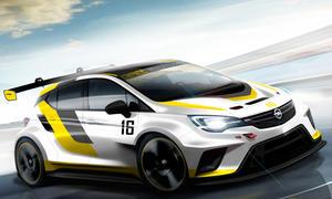 opel astra tcr motorsport tourenwagen front