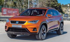 Seat 20V20 SUV Studie Test Fahrbericht Siebensitzer Allradantrieb Benziner