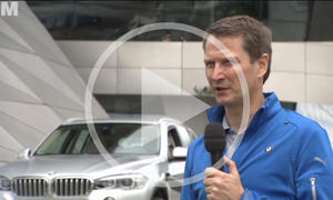 BMW X5 Hybrid: xDrive40e im Video