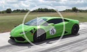 Lamborghini Huracan vs. Nissan GT-R: Duell im Video