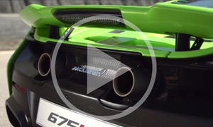 McLaren 675LT im Video