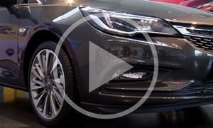 Opel Astra K 2015 im Video