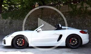Video: Porsche Boxster Spyder 2015