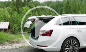 Skoda Superb Combi 2015 im Video