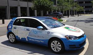 VW Golf TDI Weltrekord Verbrauch Rekord Guinness Buch der Rekorde Weltrekord
