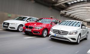 Erstes Halbjahr 2015 Premium-Absatz Verkaufszahlen Audi BMW Mercedes