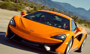 McLaren 570S 2015 Sportwagen Fahrbericht