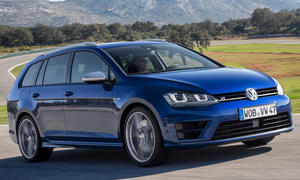 VW Golf Variant R Kompakt-Sportler Test