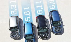 BMW 1er Ford Focus Mazda 3 VW Golf Kompaktklasse Vergleichstest