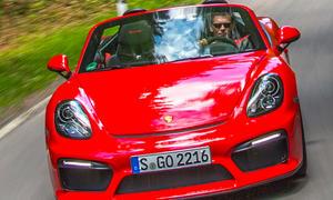 Porsche Boxster Spyder 2015 Roadster Sportwagen Test