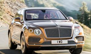 Bentley Bentayga 2015 IAA Luxus-SUV Vorstellung