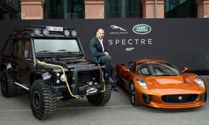 James Bond Land Rover Defender Jaguar C-X75