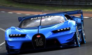 Bugatti Vision Gran Turismo 2015 IAA Chiron-Vorschau Veyron-Nachfolger