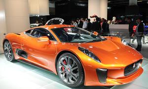 jaguar c x75 james bond spectre 2015 iaa livebilder film auto sportwagen studie