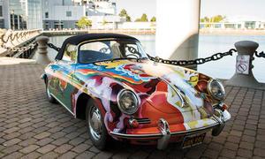 Janis Joplin Porsche 356 C Cabriolet versteigert