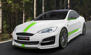 mansory tesla model s tuning elektro auto aerodynamik bodykit