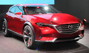 Mazda Koeru IAA 2015 Crossover SUV Livebilder