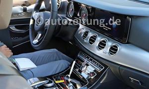 Mercedes E-Klasse 2016 Innenraum