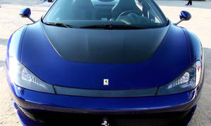 Pininfarina Ferrari Sergio Video Sound Sondermodell 458 Roadster