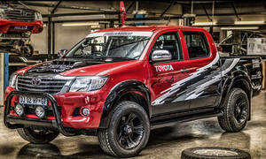 toyota hilux rex v8 einzelstueck suedafrika motorsport rallye dakar