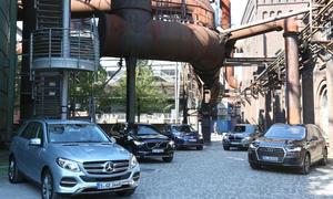 Audi Q7 3.0 TDI BMW X5 xDrive30d Mercedes GLE 350 d Volvo XC90 D5 VW Touareg 3.0 TDI