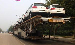 mega autotransporter foton auman daimler