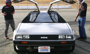 "Stanford University DeLorean ""Marty"""