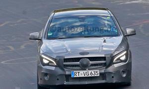 Mercedes CLA Shooting Brake Facelift Erlkönig