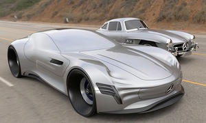Mercedes SL Pure Design