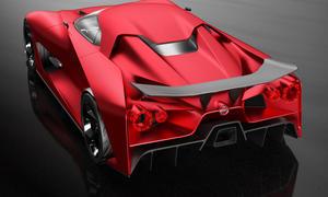 Nissan concept 2020 Vision Gran Turismo GT-R