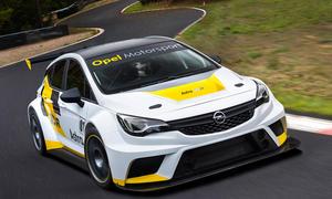 Opel Astra TCR Motorsport Rennwagen