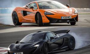 McLaren 570S gegen McLaren P1