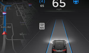 Tesla Model S Autopilot Technik