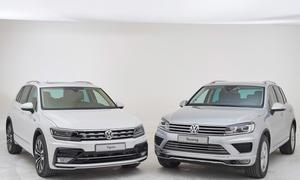 VW Tiguan VW Touareg