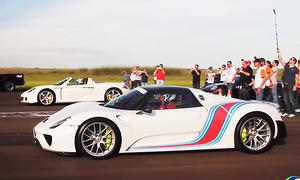porsche 918 spyder carrera gt video