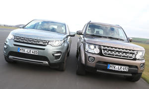 Land Rover Discovery gegen Discovery Sport