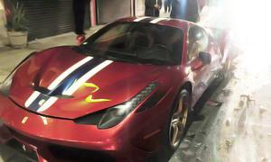 Ferrari 458 Speciale Steve Goldfield