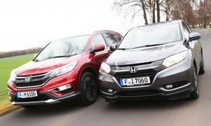 Honda CR-V H-RV SUV Vergleichstest