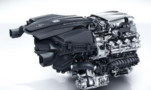 Mercedes Motor 4.0 Liter V8 AMG GT