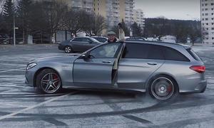 Petter Solberg als 82-jähriger AMG-Opa