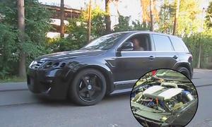 VW Touareg W12 mit 1600 PS
