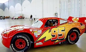 Disneys Cars: Lightning McQueen-Nachbau