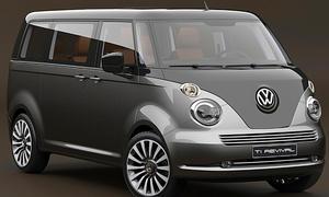 VW T1: Design-Studie