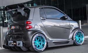 Gepimpter Smart fortwo
